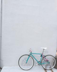 高槻市の美容室 自転車