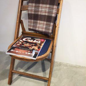 高槻市の美容室 椅子と本