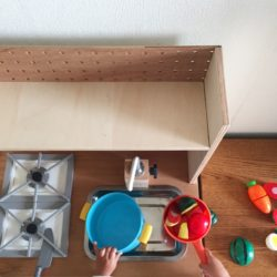 おままごとキッチン DIY