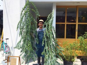 高槻市の美容室 植物 リラックス