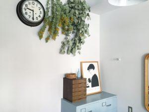 高槻市の美容室 リラックス 植物 インテリア