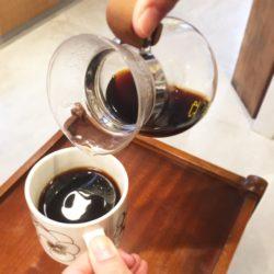 高槻市の美容室 コーヒー 大人