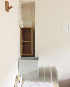 壁に付けれれる家具 高槻
